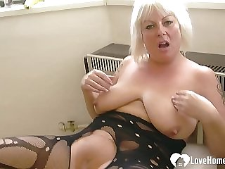 Stockings babe huge casting in tits at theme simply matchless